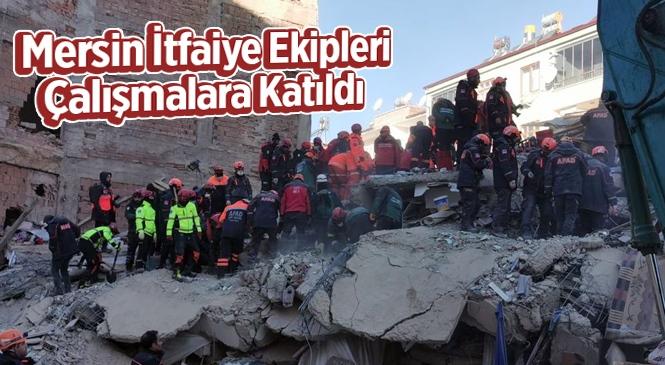 Kurtarma Çalışmaları İçin Mersin Büyükşehir Belediyesi Ekipleri Elazığ'da