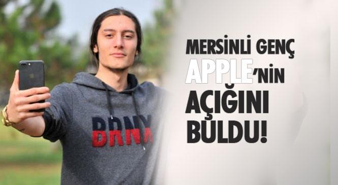 Mersin'in Erdemli İlçesinde Yaşayan Çayan Temel İsimli Genç Apple'nin Açığını Buldu, Aldığı 2 Bin Lira Ödülü Depremzedelere Bağışladı