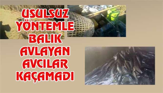 Mersin'de Usulsuz Yöntemle Balık Avlayanlar Yakalandı