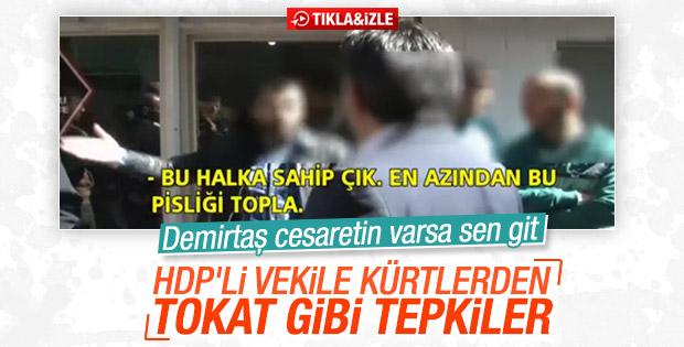 Diyarbakırlılardan HDP'li Pir'e sert tepki
